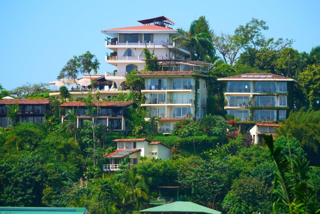 Hotel La Mariposa, Manuel Antonio, Costa Rica - panoramic view